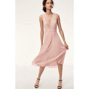 WILFRED tank twirl dress | 4 pink *flaw
